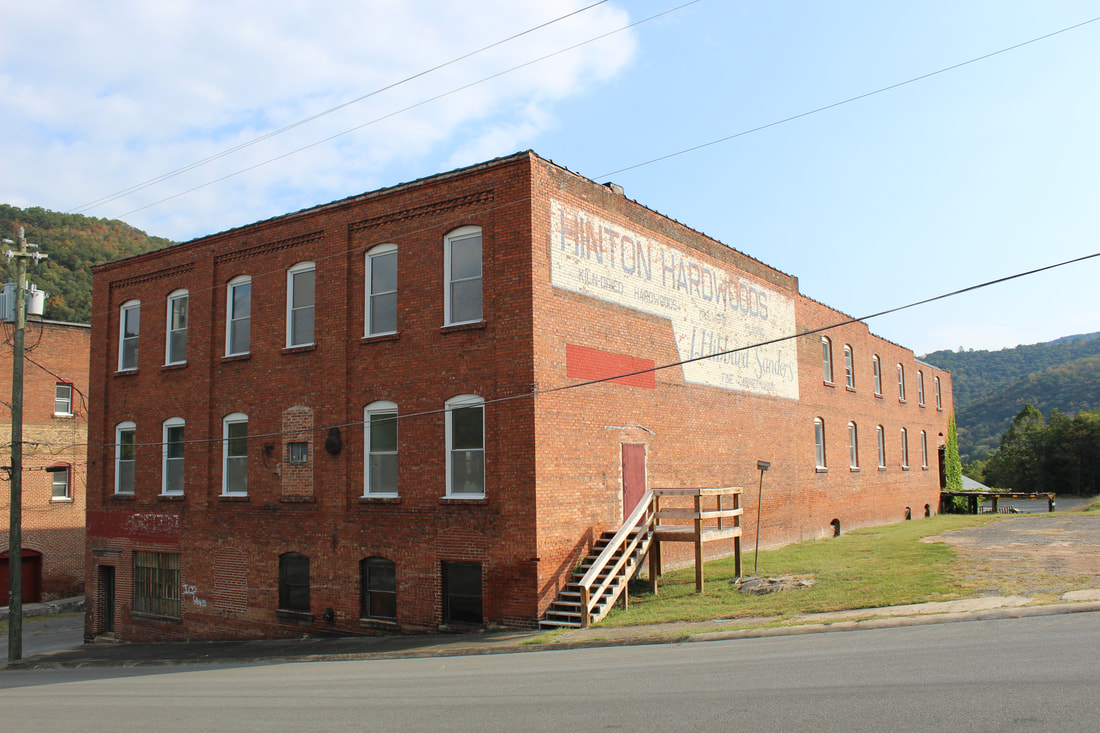 Hinton Hardwoods Building in Summers County